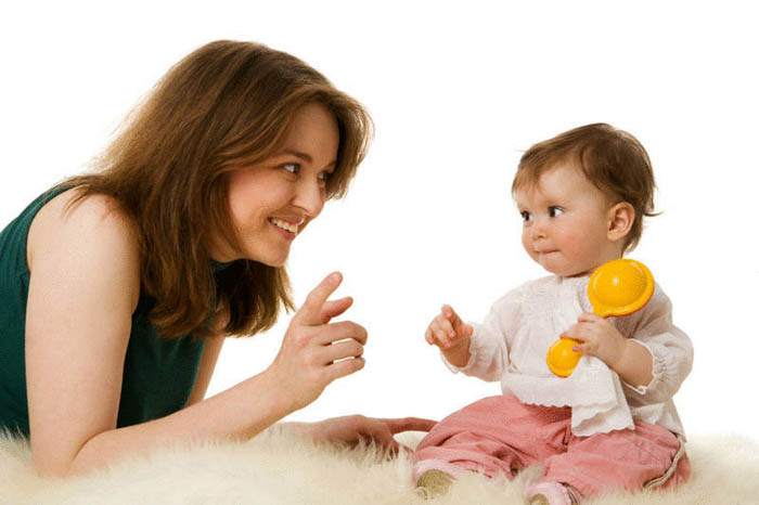 Эмоционально-речевое общение с ребенком