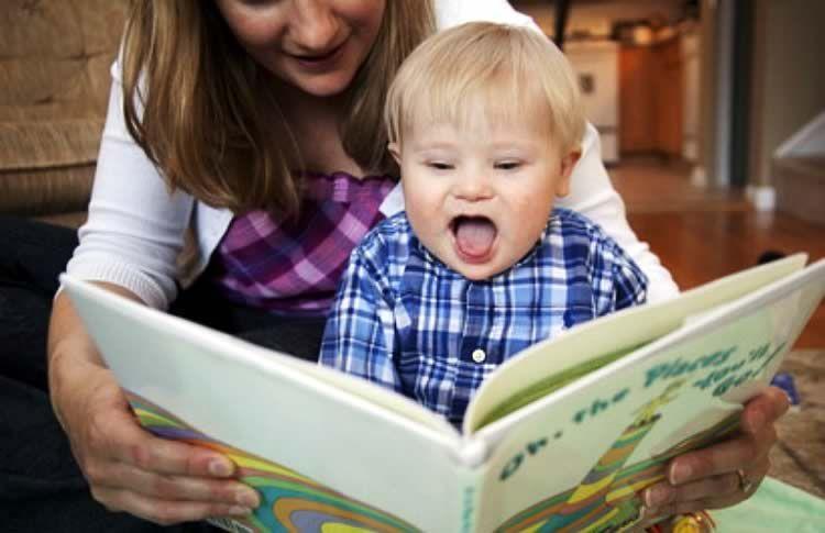Увлекательное чтение с малышом