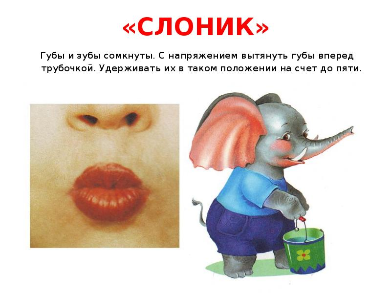 Упражнение Слоник