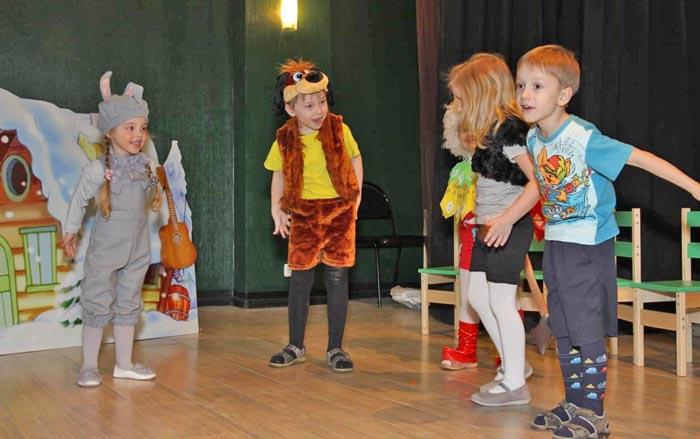 Развитие речи посредством театральной деятельности