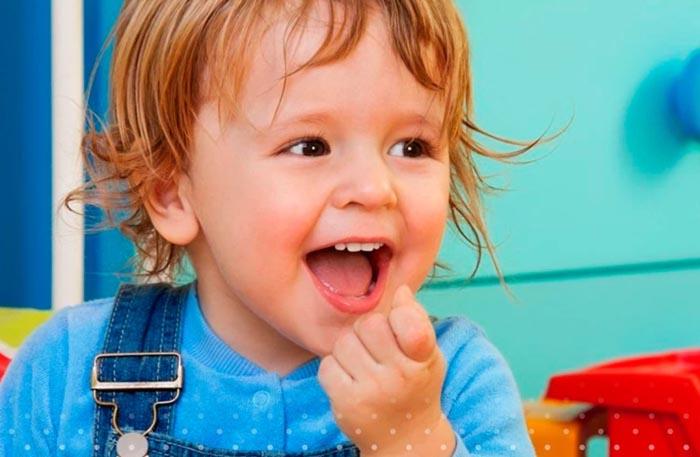Речь двухлетнего ребенка в норме