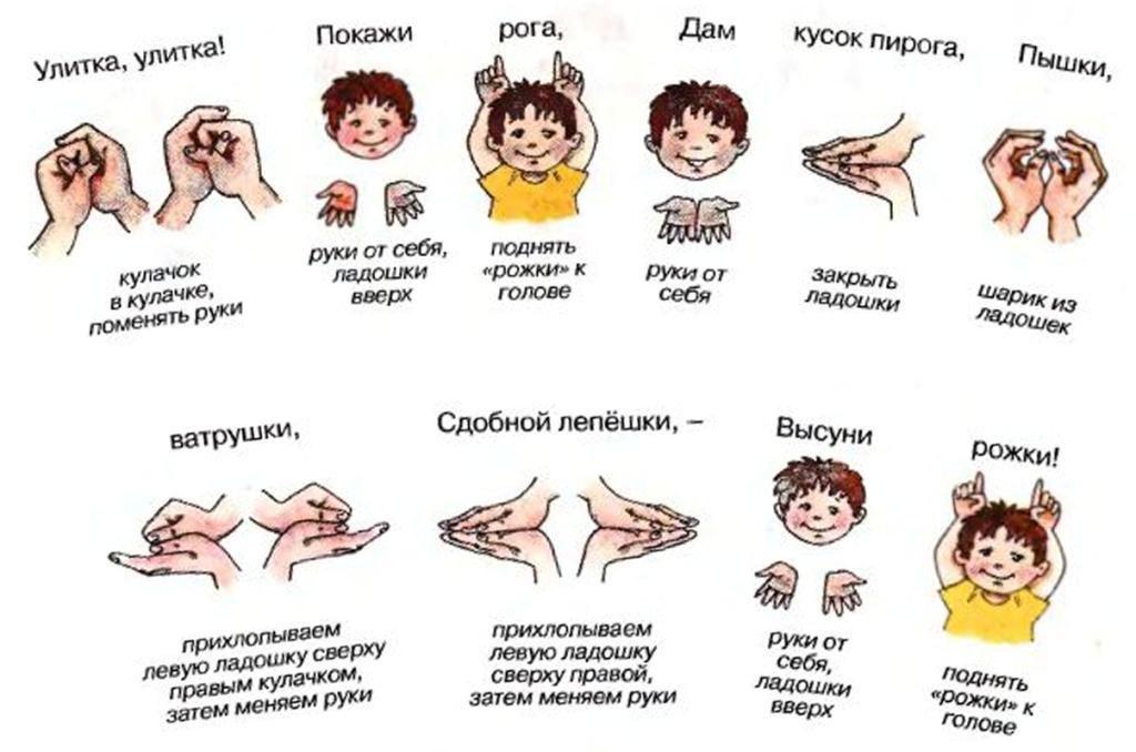 Упражнения для разминки пальчиков
