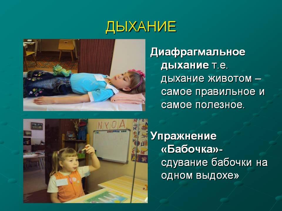 Упражнения для диафрагмального дыхания